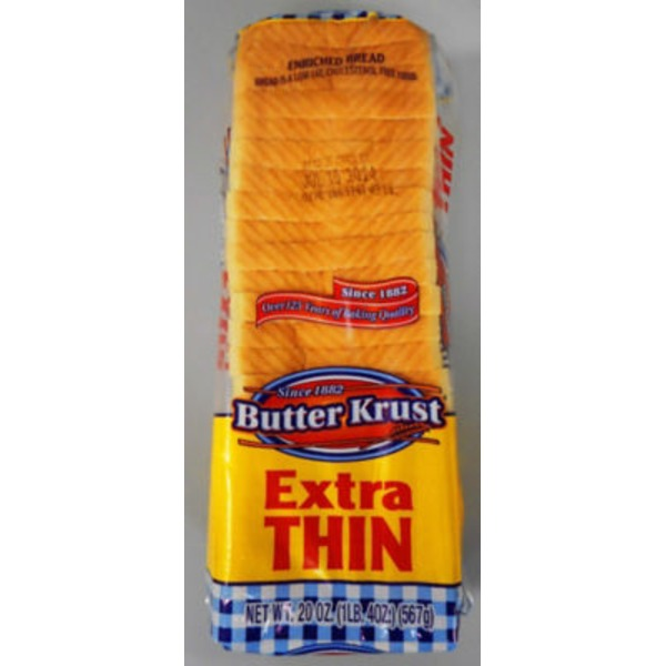 Butter Krust Extra Thin Enriched Bread