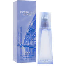 Pitbull Miami Man Eau De Toilette Spray