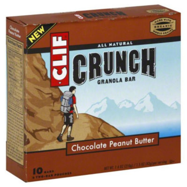 Clif Crunch ™ Chocolate Peanut Butter Granola Bar