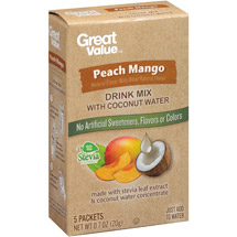 Great Value Peach Mango Drink Mix