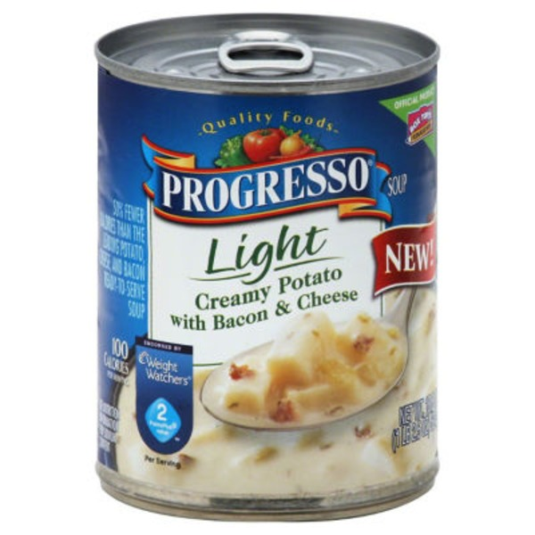 Progresso Light Creamy Potato with Bacon & Cheese Soup