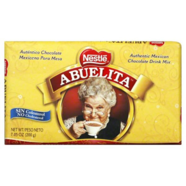 Abuelita Authentic Mexican Chocolate Drink Mix Bar Chocolate Drink Mix
