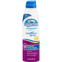 Coppertone Ultra Guard Sunscreen Continuous Spray SPF 50