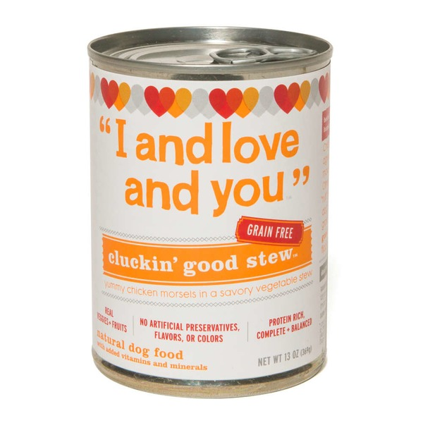 I & Love & You Cluckin' Good Stew Dog Food