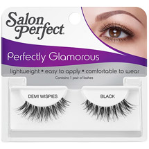 Salon Perfect Perfectly Glamorous Eyelashes Demi Wispies Black