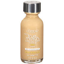 L'Oreal Paris True Match Super-Blendable Liquid Make-Up Sun Beige