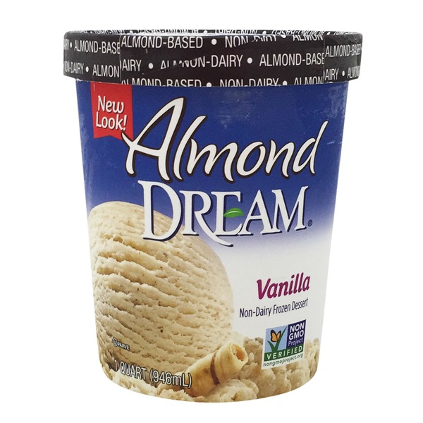 Almond Dream Vanilla Non-Dairy Frozen Dessert