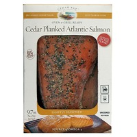 Cedar Bay Cedar Planked Maple & Smoked Pepper Atlantic Salmon