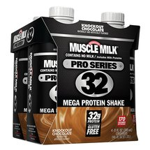 Muscle Milk Pro Series 32 Knockout Chocolate Mega Protein Shake