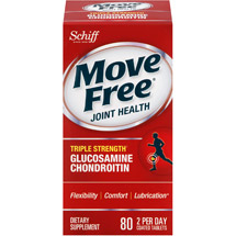 Move Free Advanced Glucosamine Chondroitin Joint Supplement with Hyaluronic Acid