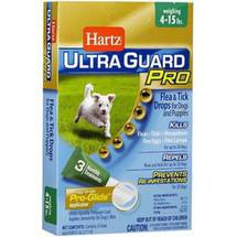 Hartz UltraGuard Pro Flea and Tick Drops for Dogs under 15lbs