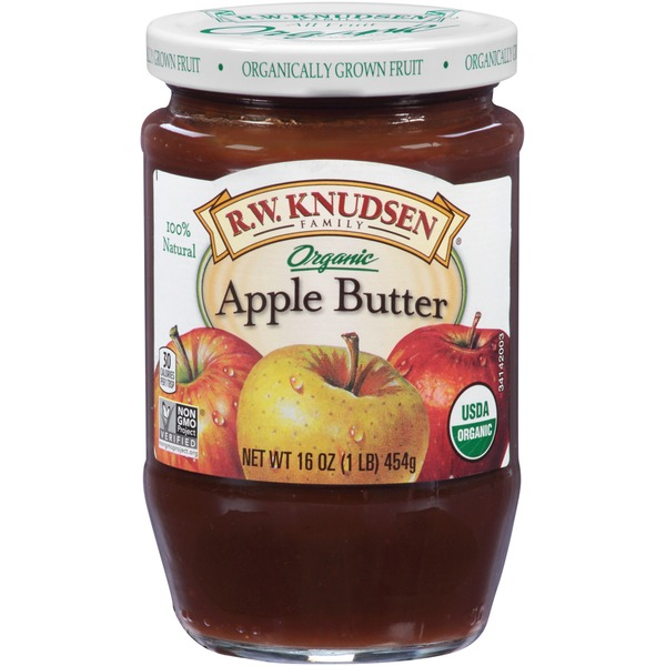 R.W. Knudsen Family Organic Apple Butter (Glass Jar)