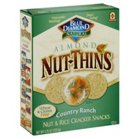 Blue Diamond Almond Nut-Thins Country Ranch Nut & Rice Cracker Snacks