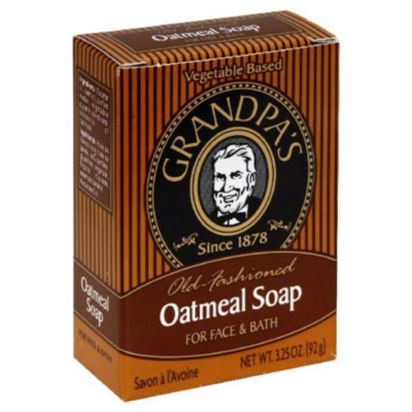 Grandpa's Old-Fashioned Oatmeal Soap