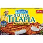Gorton's Signature Grilled Tilapia Fish Fillets