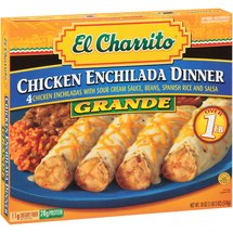 El Charrito: Grande Sour Cream Chicken Enchilada Dinner