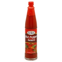 Grace & I Hot Pepper Sauce, Very Hot