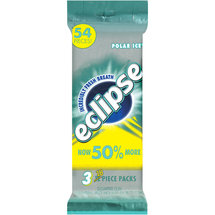 Eclipse Polar Ice Sugarfree Gum (Pack of 3)