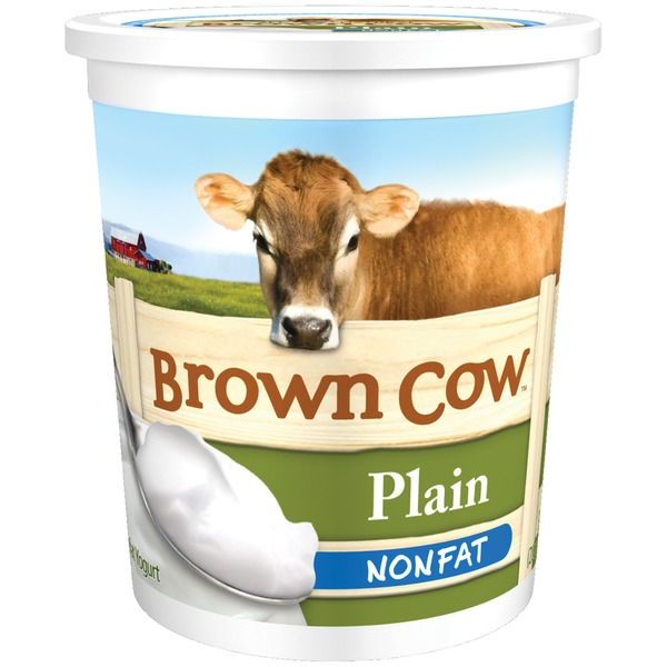 Brown Cow Nonfat Plain Yogurt