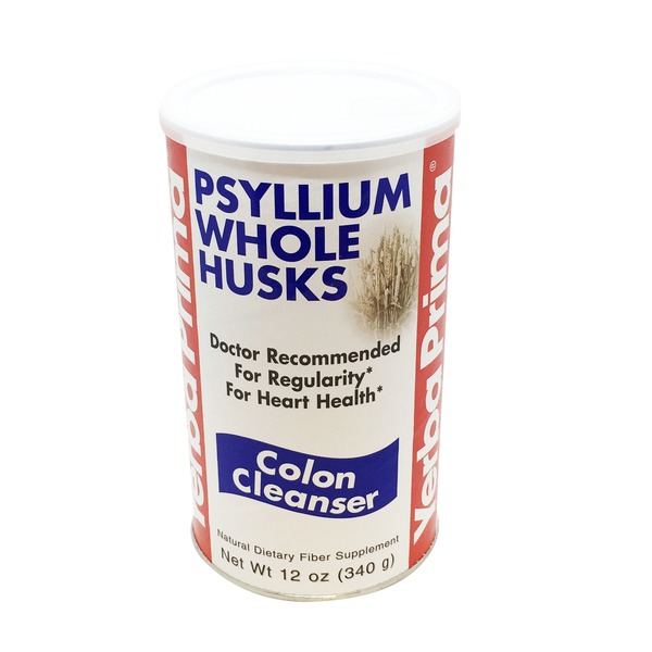 Yerba Prima Psyllium Whole Husks, Colon Cleanser