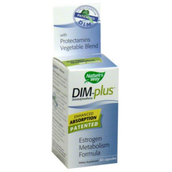 Nature's Way DIM-plus Estrogen Metabolism Formula - 60 CT