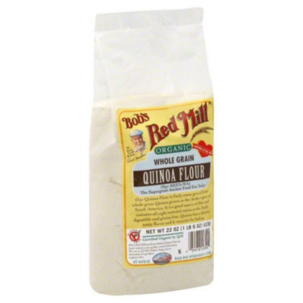 Bob's Red Mill Organic Whole Grain Quinoa Flour