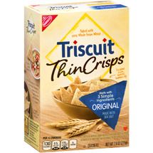 Nabisco Triscuit Thin Crisps Original Crackers
