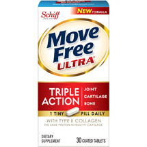 Move Free Ultra Joint Supplement with Collagen and Hyaluronic Acid