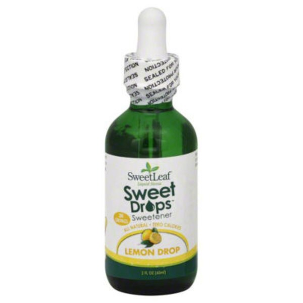 Sweet Leaf Tea Co Lemon Drop Liquid Stevia Sweetener
