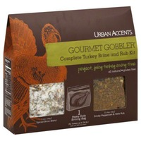 Urban Accents Urban Accents Gourmet Gobbler Complete Turkey Brine and Rub Kit