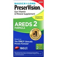Bausch & Lomb Preser Vision Adreds 2 Formula Eye Vitamin & Mineral Supplement