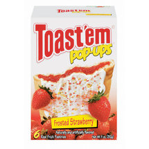 Toast 'Em Pop Ups Frosted Strawberry