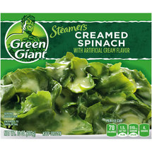 Green Giant Spinach Creamed w/Artificial Cream Flavor
