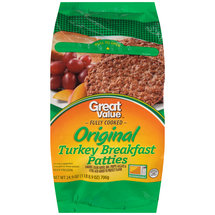 Great Value Turkey Breakfast Patties