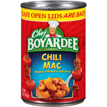 Chef Boyardee Chili Mac Macaroni