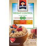 Quaker Weight Control Instant Oatmeal Variety Pack