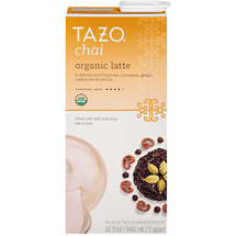 Tazo Organic Chai Spiced Black Tea Latte Concentrate
