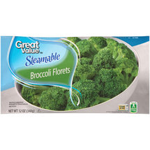 Great Value Steamable Broccoli Florets