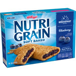 Kellogg's Nutri Grain Blueberry Cereal Bars Blueberry 8 Ct/10.4 Oz