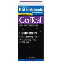 GenTeal Mild To Moderate Dry Eye Relief Lubricant Eye Drops