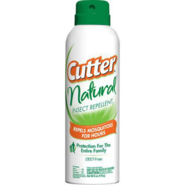 Cutter Natural Insect Repellent Deet Free Aerosol