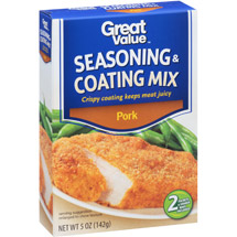 Great Value Pork Seasoning & Coating Mix