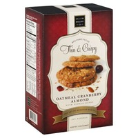 Salem Baking Company Delightfully Thin & Crispy Cookies Oatmeal Cranberry Almond
