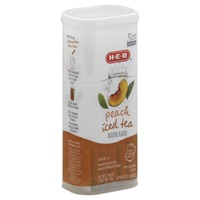 H-E-B Peach Iced Tea Powdered Drink Sticks
