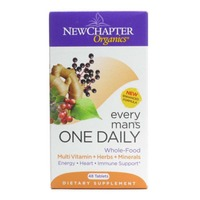 New Chapter Multivitamin, Every Man's, One Daily, Whole-Food Cultured, Tablets