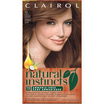 Clairol Natural Instincts 12 Toasted Almond Light Golden Brown Kit