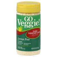 GO VEGGIE Grated Parmesan Cheese Alternative, Lactose Free