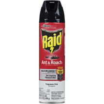 Raid Ant And Roach Aersol Unscented