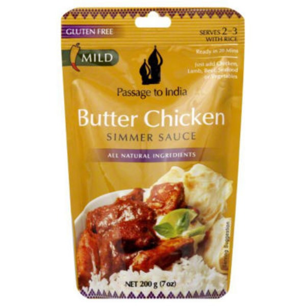Passage to India Simmer Sauce Butter Chicken