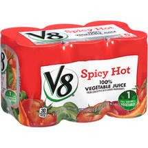 V8 Vegetable Spicy Hot Juice